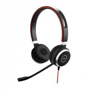 Jabra EVOLVE 40 Duo (jack 3,5 mm, USB)