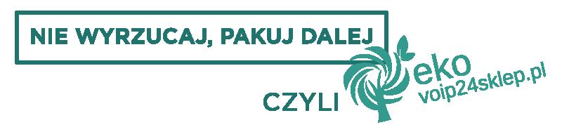 """Nie wyrzucaj, pakuj dalej!"""" – czyli eko voip24sklep.pl"""